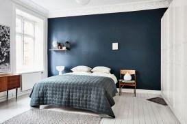 Scandinavian bedroom ideas for small apartment 36