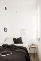 Scandinavian bedroom ideas for small apartment 37
