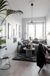 Scandinavian bedroom ideas for small apartment 45
