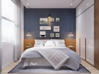 55 Scandinavian Bedroom Ideas for Small Apartment - Round ...