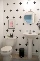 Simple bathroom ideas for small apartment 11
