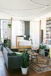 Simple decor that so perfect for rental apartment (39)