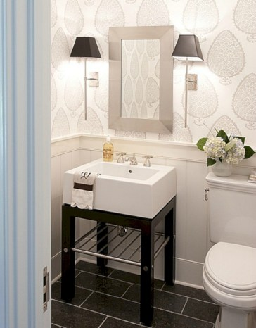 54 Small Country Bathroom Designs Ideas - Round Decor