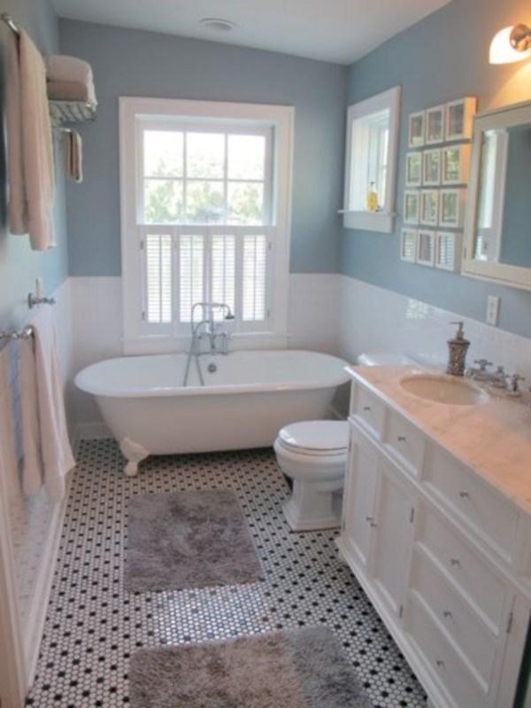 Small Country Bathroom Design Ideas 42 - Roundecor