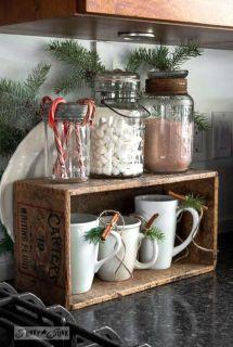 Stunning christmas kitchen décoration ideas 20 20