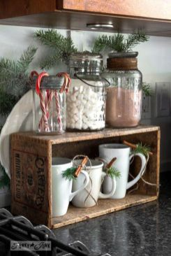 Stunning christmas kitchen décoration ideas 20 20