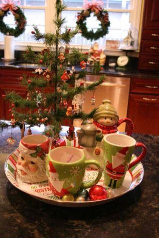 Stunning christmas kitchen décoration ideas 30 30