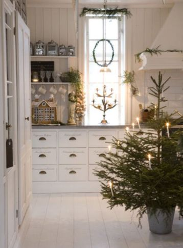 Stunning christmas kitchen décoration ideas 53 53