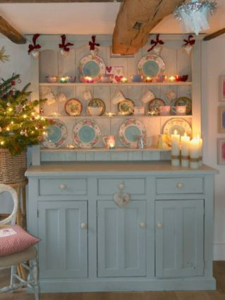 Stunning christmas kitchen décoration ideas 54 54