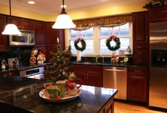 Stunning christmas kitchen décoration ideas 6 6