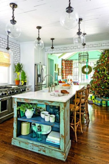 Stunning christmas kitchen décoration ideas 7 7