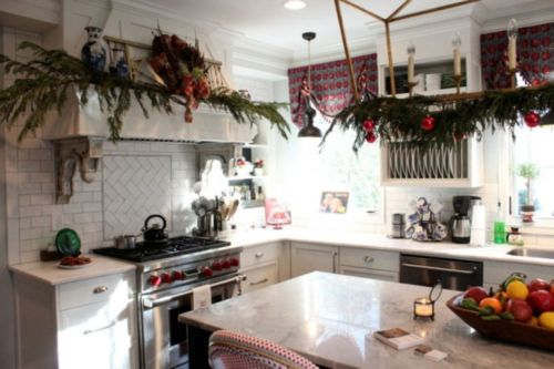 Stunning christmas kitchen décoration ideas 8 8