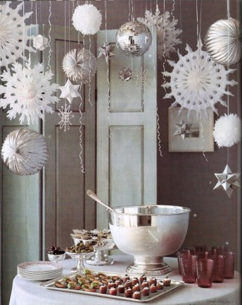 Stunning christmas table decorations ideas 13
