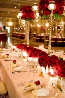Stunning christmas table decorations ideas 29
