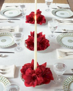 Stunning christmas table decorations ideas 32