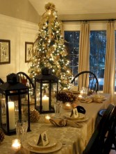 Stunning christmas table decorations ideas 41