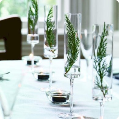 Stunning christmas table decorations ideas 48