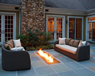 Stunning outdoor stone fireplaces design ideas 01