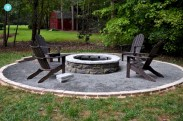 Stunning outdoor stone fireplaces design ideas 29