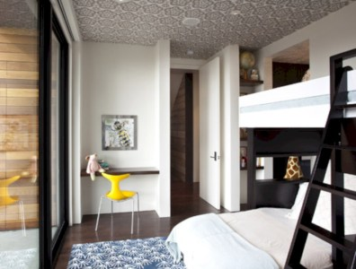 Stylish bedrooms with floor to ceiling windows 25