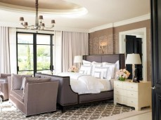 Stylish bedrooms with floor to ceiling windows 40