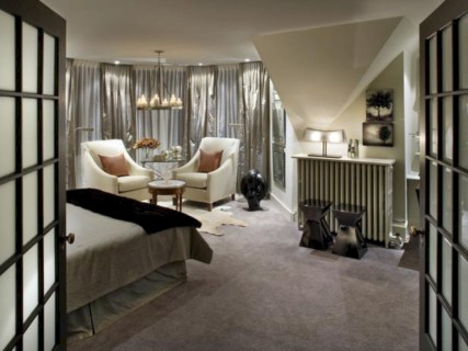 Stylish bedrooms with floor to ceiling windows 47
