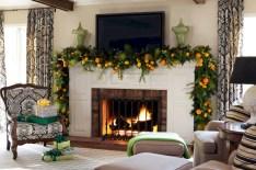 Stylish christmas décoration ideas with stylish black and white 04
