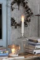Stylish christmas décoration ideas with stylish black and white 22