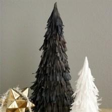 Stylish christmas décoration ideas with stylish black and white 23