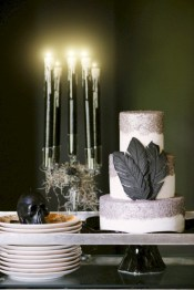 Stylish christmas décoration ideas with stylish black and white 31