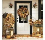 Stylish christmas décoration ideas with stylish black and white 35