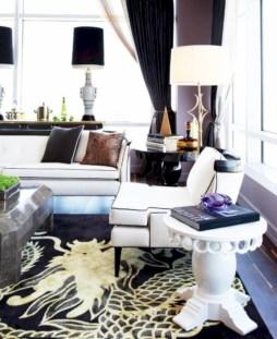 Stylish christmas décoration ideas with stylish black and white 40