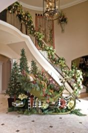 Stylish christmas decoration ideas using sleigh 19 19