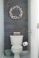 Unique diy bathroom ideas using wood (2)