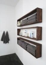 Unique diy bathroom ideas using wood (21)