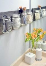 Unique diy bathroom ideas using wood (4)