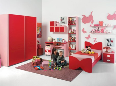 Unisex modern kids bedroom designs ideas 05