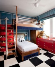 Unisex modern kids bedroom designs ideas 10