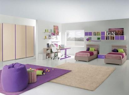 60 Unisex Modern Kids Bedroom Designs Ideas - Round Decor