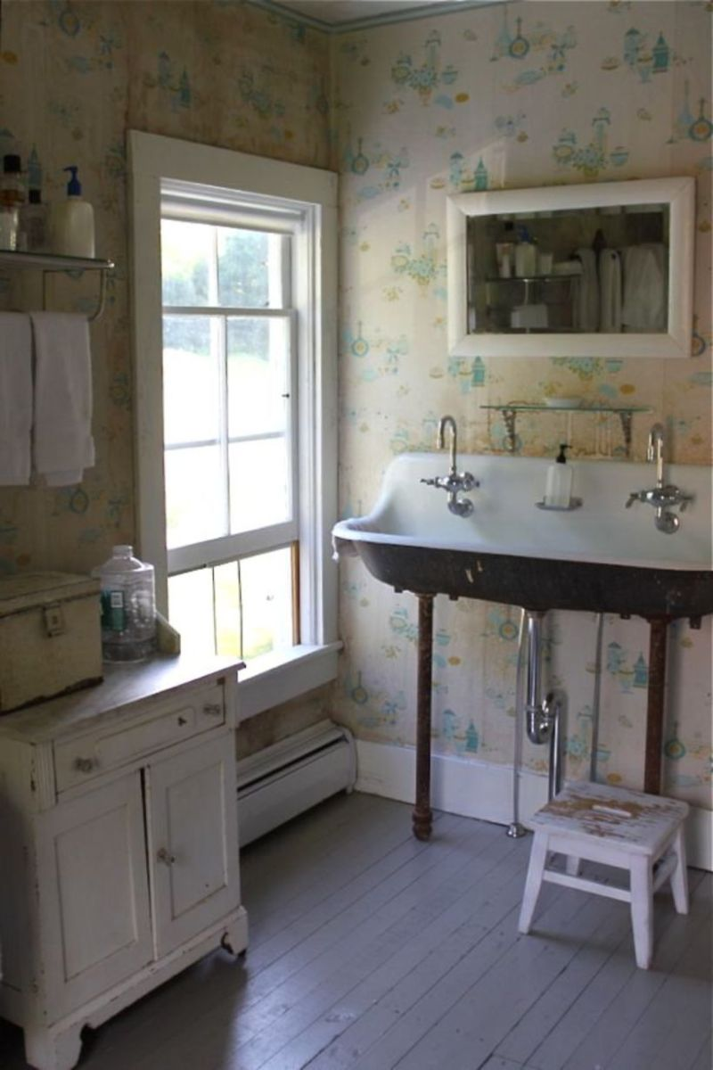 Vintage farmhouse bathroom ideas 2017 (14)