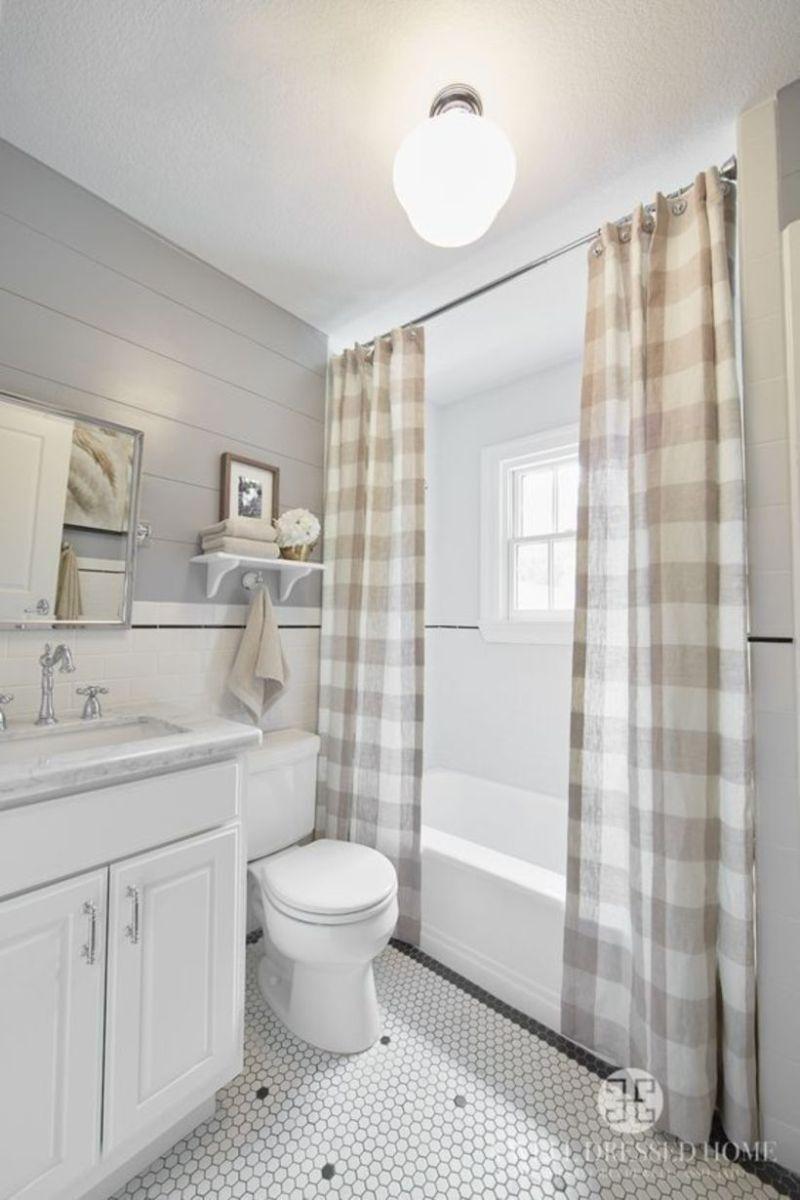 Vintage farmhouse bathroom ideas 2017 (17)