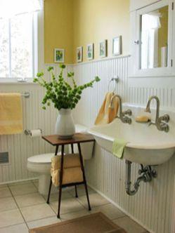 Vintage farmhouse bathroom ideas 2017 (19)