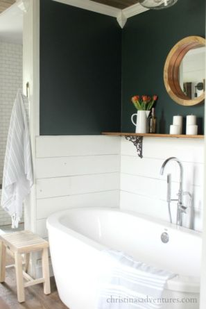 Vintage farmhouse bathroom ideas 2017 (26)