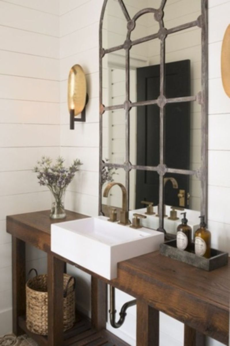 Vintage farmhouse bathroom ideas 2017 (35)