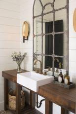 Vintage farmhouse bathroom ideas 2017 (35)