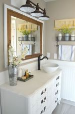 Vintage farmhouse bathroom ideas 2017 (42)