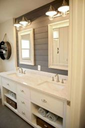 Vintage farmhouse bathroom ideas 2017 (47)