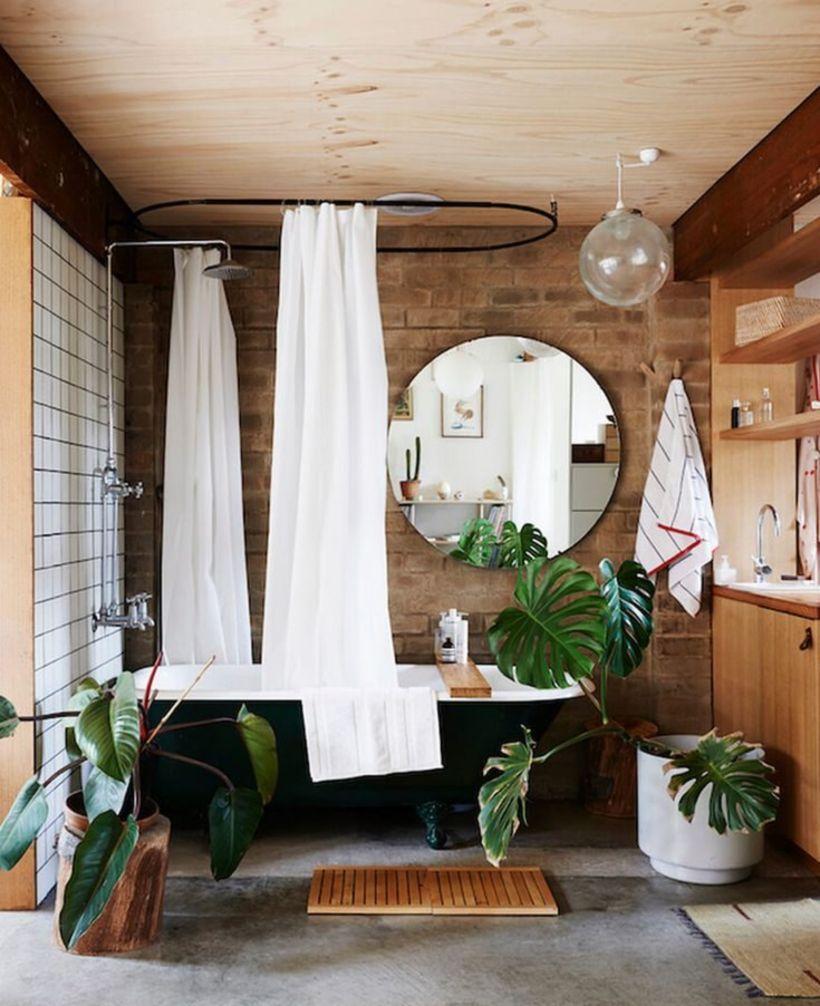 Vintage farmhouse bathroom ideas 2017 (49)