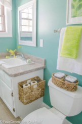 Vintage paint colors bathroom ideas (14)