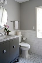 Vintage paint colors bathroom ideas (16)
